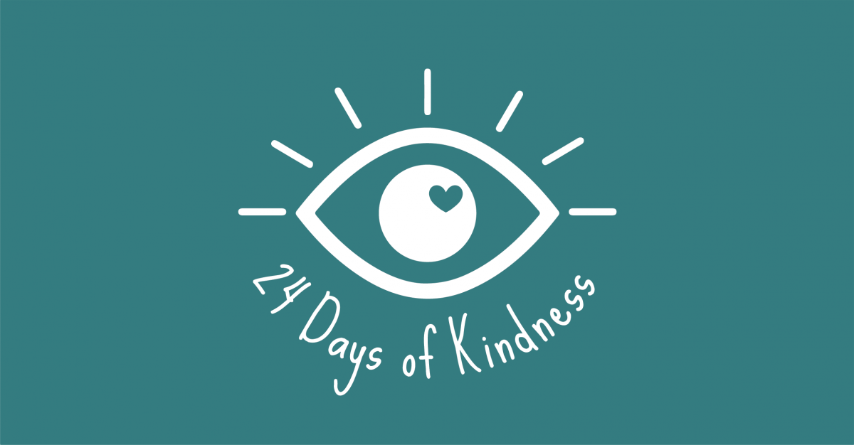 24 days of kindness challenge